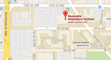 Map of Renewable Bioproducts Institute | Georgia Institute of Technology