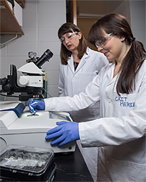 Women in Research Lab
