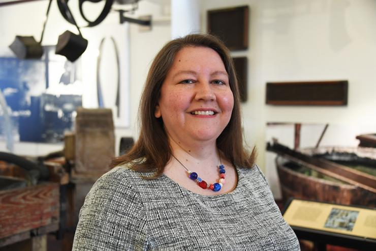 Virginia Howell is the new Director of the Robert C. Williams Museum of Papermaking
