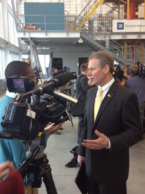 Georgia Tech President Bud Peterson