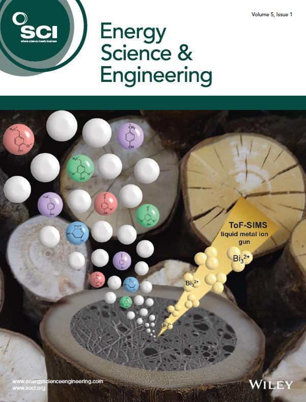 Allison Tolbert's work on Energy Science & Engineering cover