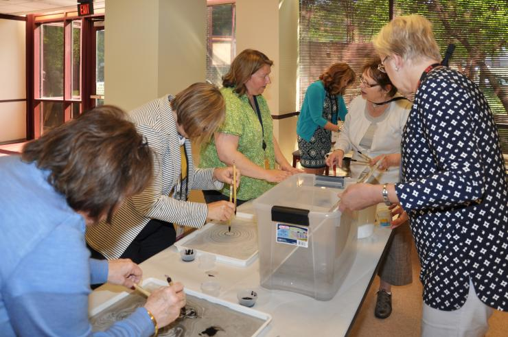 TAPPI Spouses Visit Robert C. Williams Museum