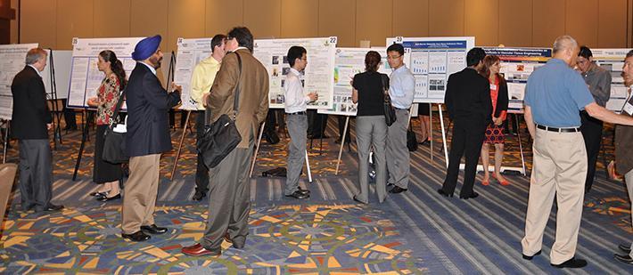 Thirty-four students exhibited at the 2013 Executive Conference Poster Session.