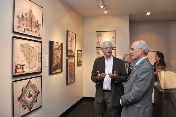 Bras, Dr. Rafael Provost and Knoespel, Professor Kenneth