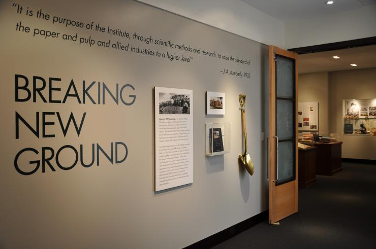 Breaking New Ground Exhibit