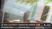 Power-generating textiles