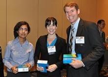 Ketki Sharma, Cait Meree and Chad Hume