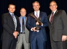 Hannah receives 2015 PIMA Executive of the Year