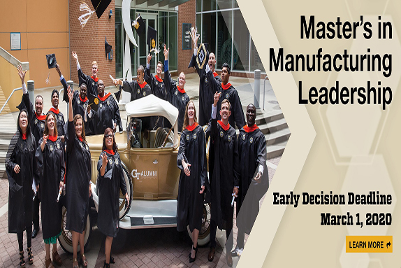 Master's in Manufacturing Leadership